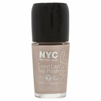 NYC Expert Last Nail Polish, up to 7 day wear, 215 Late Night Latte, 0.33 fl oz