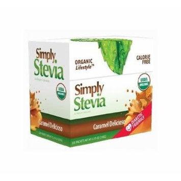 STEVIA INTERNATIONAL, Caramel Stevia Powder, 100 CT
