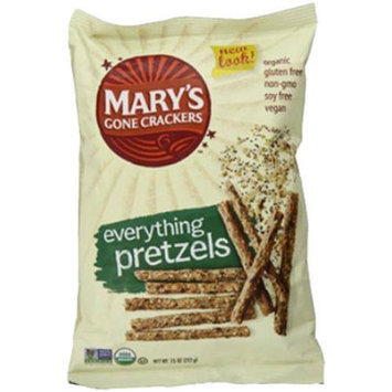 Generic Mary's Gone Crackers Everything Pretzels, 7.5 oz, (Pack of 3)