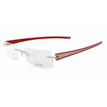 Silhouette Designer Rimless Reading Glasses Titan Rays 5255-6050-5239 ; DEMO LENS