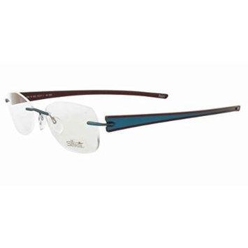Silhouette Designer Rimless Reading Glasses Titan Rays 5255-6052-4344 ; DEMO LENS