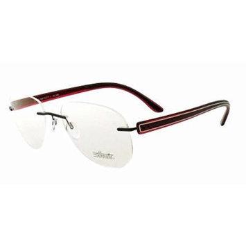 Silhouette Designer Rimless Reading Glasses Modern Shades 5250-6059-5247 ; DEMO LENS