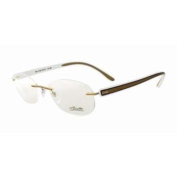 Silhouette Designer Rimless Reading Glasses Modern Shades 5250-6051-4292 ; DEMO LENS
