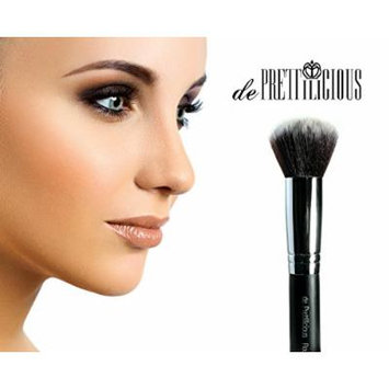 Premium Synthetic Round Kabuki Brush -ON SALE! FREE BEAUTY E-BOOK. Soft and Perfect Shape for blending powder and mineral makeup with no hard lines. Achieve Flawless Airbrushed & Streak-free Finish, Natural Look! Liquid Foundation Brush - Powder Brush...