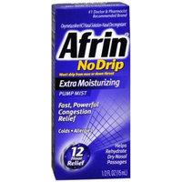 Afrin 12 Hour No-Drip Extra Moisturizing Pump Mist, 0.11 Pound