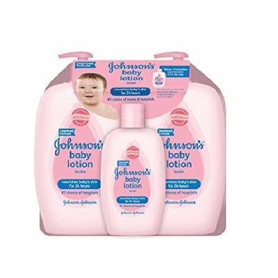Johnson's Baby Lotion Value Pack (2 - 27 fl. oz., 1 - 9 fl. oz.)