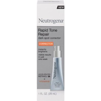 Neutrogena Rapid Tone Repair Moisturizer Dark Spot Corrector Serum, 2 Pack