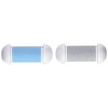 Personal Pedi Foot Callus Remover refills, Replacement Rollers heads - Set of TWO, Includes 1 Buffing Roller & 1 Remover Roller