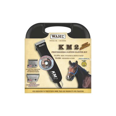 Wahl Pet Clippers Km2 Clipper W/2 Blades Black