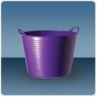 Tubtrugs SP42P 10.5-Gallon Storage Bucket, Purple