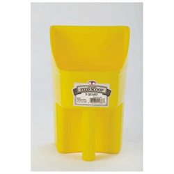 Miller Mfg Inc Miller Mfg 3 Qt Scoop Yellow
