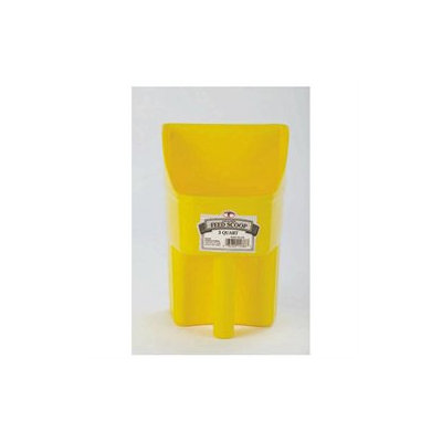 Miller Mfg Inc Miller Mfg 3 Qt Scoop Yellow