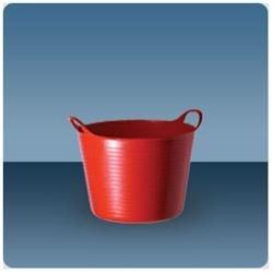Tubtrugs Super Flexible Bucket, 3.5 gal Yellow