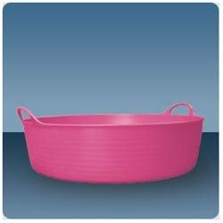 Tubtrugs Equine Buckets Shallow 9 gal Red