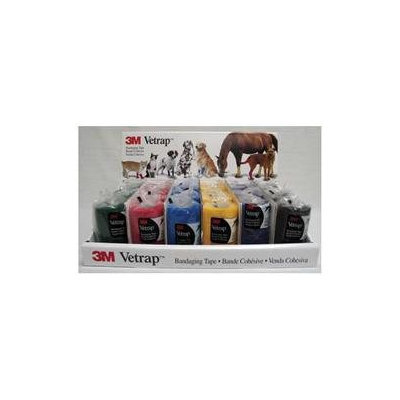 3m Vetrap- Assorted 4 In X 5 Ft - 1410D