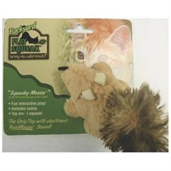 Ourpet S Company Play-n-squeak Backyard Squirrel Cat Toy