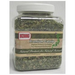 Kong - Naturals Premium Catnip - 1 oz. CLEARANCE PRICED