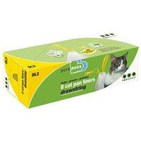 Van Ness Plastic Molding - Drawstring Cat Pan Liners Large-8 Pack - DL2