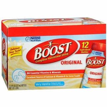 Boost Original Complete Nutritional Drink 12 Pack, Very Vanilla 8 oz