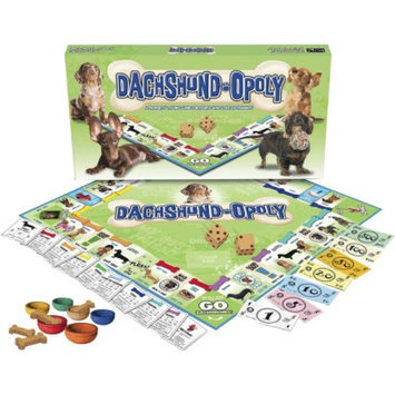 Late for the Sky Productions Late for the Sky DACHSHUND-OPOLY Board Game