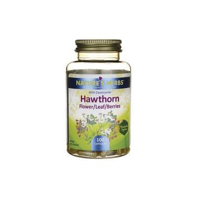 Nature's Herbs Zand Hawthorn Flowers and Berries Capsule, 100 Count
