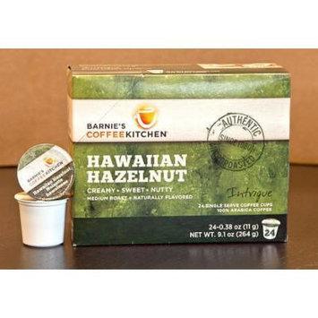 Barnie's Coffeekitchen Hawaiian Hazelnut Single Serve, 24 Count