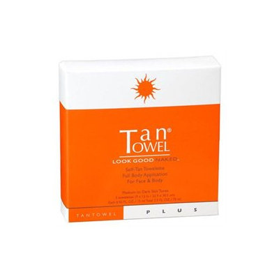 Tantowel Plus Evolution Plus, Total Body Self-Tan Towelette, 5 ea
