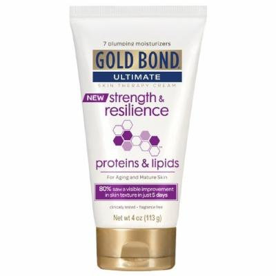 Gold Bond Ultimate Skin Therapy Cream, Strength & Resilience 4 oz Pack of 4
