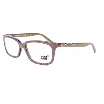 Montblanc MB 0429/V 059 Khaki Rectangular Opticals