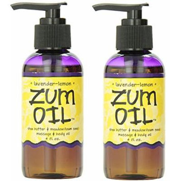 Indigo Wild: Zum Oil 4 Fl Oz Lavender Lemon Massage Oil