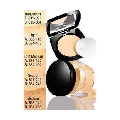 Avon Ideal Flawless Pressed Powder - Mocha G305