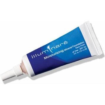 Illuminare Moisturizing Mineral Foundation Makeup SPf 20 Dewy Finish 15ml (Sienna Sun)