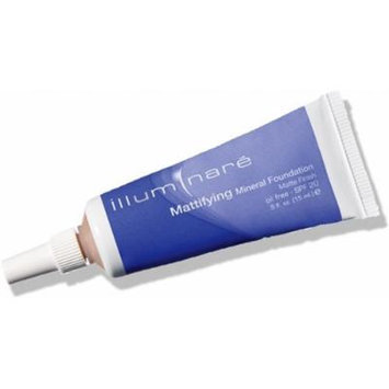 Illuminare Mattifying Mineral Foundation Makeup SPf 20 Matte Finish 15ml (Portofino Porcelain)