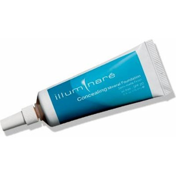 Illuminare Concealing Mineral Foundation Makeup SPf 20 Semi-Matte Finish 15ml (Tuscan Toast)