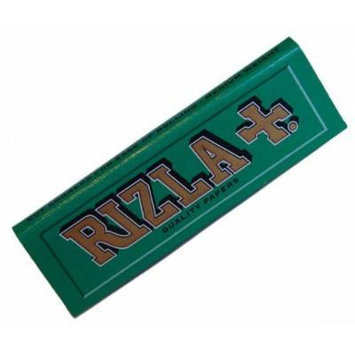 50 Packets Green Rizla - Regular Size