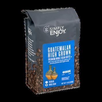 Simply Enjoy Premium Whole Bean Coffee Guatemalan High Grown