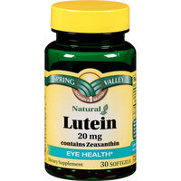 Lutein Softgels 20mg