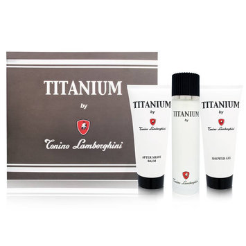Titanium by Tonino Lamborghini for Men Set