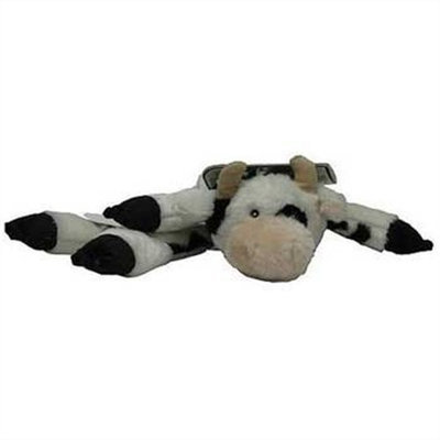 HuggleHounds Long & Lovely Barnyard Cowpie Dog Toy - Large