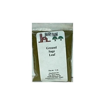 Barry Farm Sage Leaf, Ground, 1 oz.