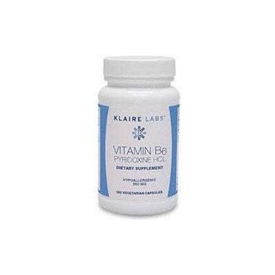 Klaire Labs - Vitamin B6 (pyridoxine)250mg 150c
