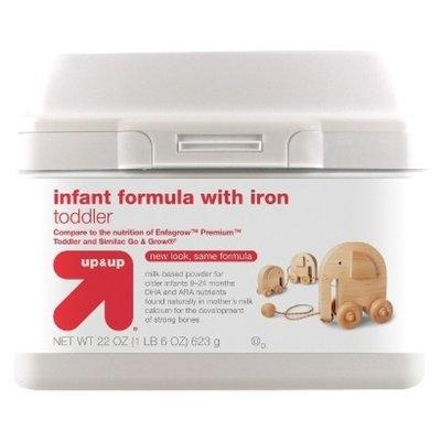 up & up Toddler Formula with Iron - 22oz