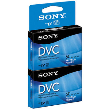 Sony Dvm60Prr/2 Video Dvcmini Digital 60 Minute 6Mm