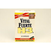 Vital Fuerte H3 Antioxidant 30 Capsules - Antioxidante