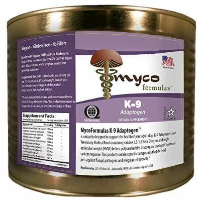 MycoFormulas K-9 Adaptogen Supplement, 1000 Servings