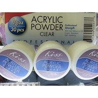 Kiss Nail Acrylic Powder Clear Set of 3
