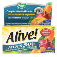 Nature's Way Alive!® Men's 50+ -- 50 Tablets(pack of 2)