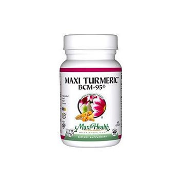 Maxi BCM-95 Turmeric Supplement, 60 Count