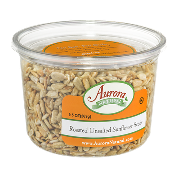 Aurora Natural Roasted Unsalted Sunflower Seeds