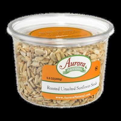 Aurora Natural Roasted Unsalted Sunflower Seeds